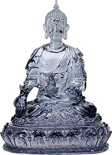 YTC Blue Colored Medicine Buddha Religious Shrine Decorative Statue