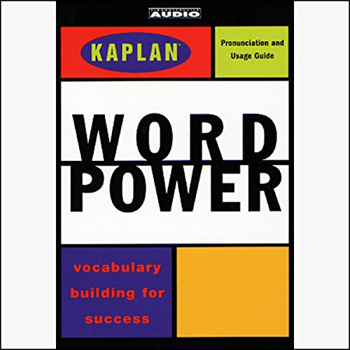 Kaplan Word Power audiobook cover art