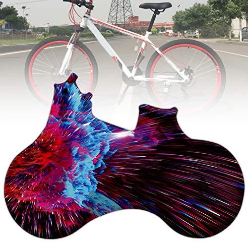 KJRJA Cubierta Completa Elástica para Bicicleta 156x100cm a Prueba de Polvo, Impermeable, Reutilizable, Protector de Bicicleta, Cubierta de Motocicleta para Exteriores E Interiores,B
