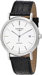 Longines Presence Leather Automatic Mens Watch L49214122