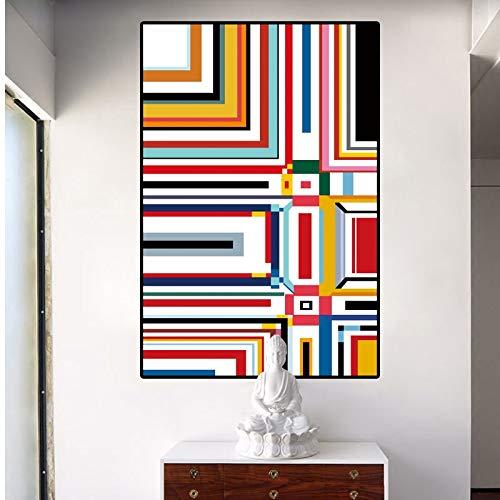 Geen lijst Abstract schilderij raster foto's door Piet Cornelies Mondriaan moderne canvas prints kunst aan de muur voor woonkamer Cuadros de60x90cm
