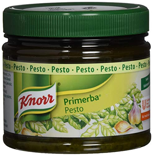 Knorr Primerba Kräuter in Öl Pesto, 1er Pack (1 x 340 g)