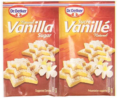 Dr. Oetker Vanilla Sugar - Natural - 6 × 8 g