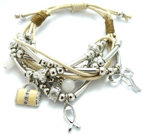 Beadskette, beadsarmband, super cadeau idéal pour toutes les occasions