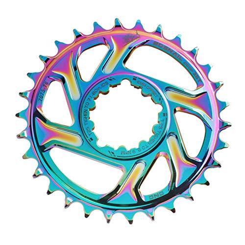 T TOOYFUL Hohe Festigkeit Bike Kettenblatt Direct Mount Kette Rad Engen Breite 30~38T 8~11S Mountain Road Fahrrad Kette Guide Räder Teile - Bunte 30T