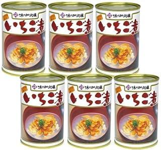 味の加久の屋 ウニとアワビの潮汁 いちご煮 415g×6缶