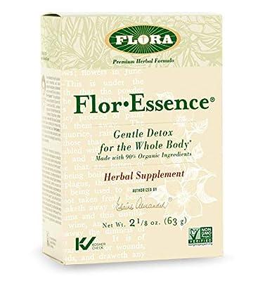 FLORA - FlorEssence Dry Tea Blend, Gentle Detox & Cleanse, All Natural Herbs, 2.2 Oz from Flora