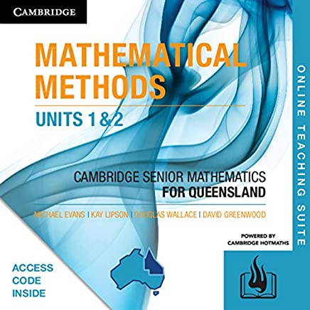 CSM QLD Mathematical Methods Units 1 and 2 Online Teaching Suite (Card)