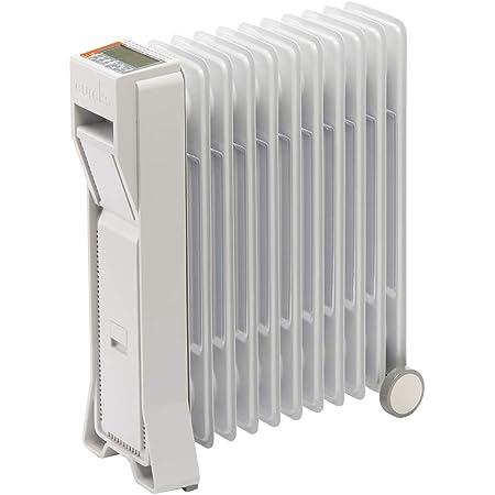 ユーレックス (eureks) オイルヒーター (暖房目安:4-10畳) LFXシリーズ アイボリーホワイト LFX11EH-IW