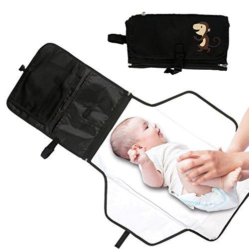 Cambiador Bebé Portátil Cojín del Pañal del Bebé