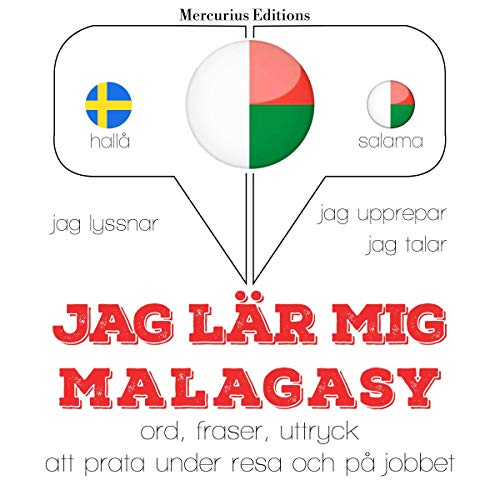 Jag lär mig malagasy cover art