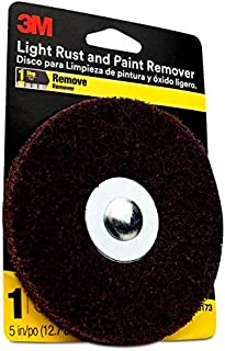 3M Light Rust and Paint Remover, Step 1, 5 inches, Pack of 1