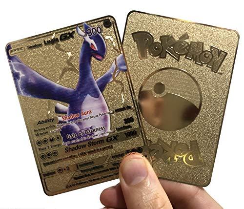 Shadow Lugia Custom Metal Pokemon Card