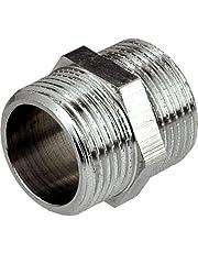 """3/4""""x 3/4"""" rosca BSP tubo de conexión macho x macho accesorios Muff"""