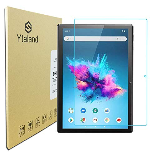Ytaland Glass Screen Protector for VANKYO MatrixPad S30 Tablet 10 inch, Anti-Fingerprints Bubble-Free Tempered Glass Screen Protector Film Cover