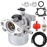 N/C ZAMDOE 799866 carburador Repuesto Kit para 794304 796707 790845 799871 Motor de cortacésped Toro Craftsman con bujía, Junta, Filtro de Combustible