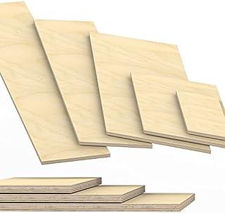10x10cm. 18mm starke Sperrholzplatten Multiplexplatten Holzplatten Tischplatten Zuschnitt auf Ma/ß Sonderma/ße !