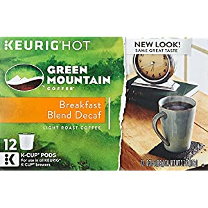 Green Mountain Keurig Decaf Coffee, 12 ct