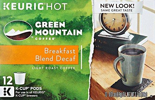 Green Mountain Keurig Decaf Coffee, 12 ct