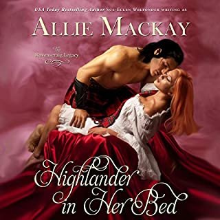 Highlander in Her Bed audiobook cover art