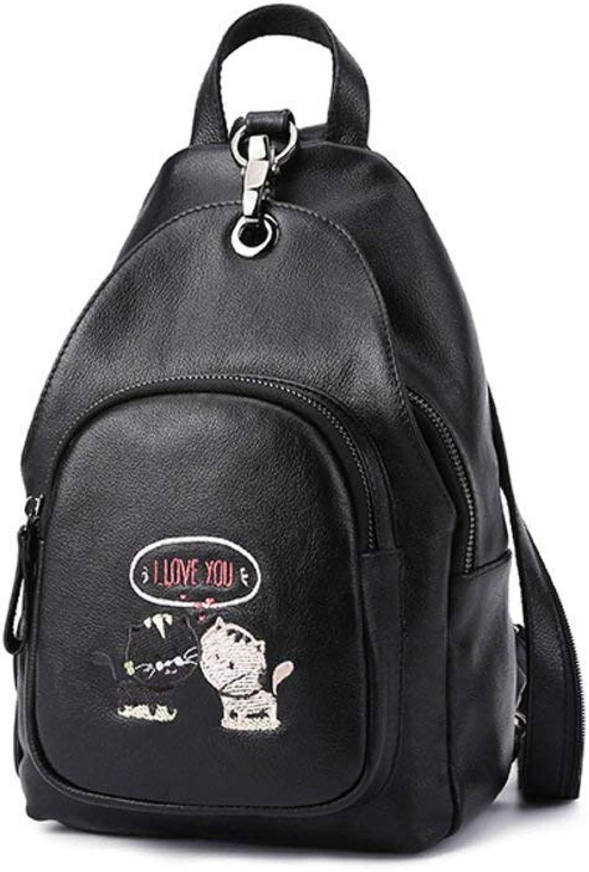 YANG YANG YANG Schwarz Mini Rucksack, Leichte Damen Umhängetasche - Ein B07H5CHCP9 | Kaufen Sie beruhigt und glücklich spielen  9fc7ed
