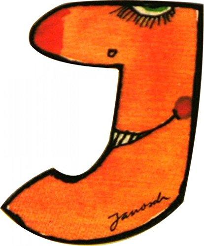 Janosch Buchstaben Holzbuchstaben J ca. 6cm
