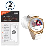Huawei Watch Elegant Screen Protector, BoxWave [ClearTouch Anti-Glare (2-Pack)] Anti-Fingerprint Matte Film Skin for Huawei Watch Elegant, Jewel