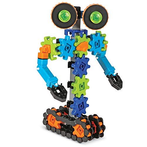 Learning Resources- Robots en Movimiento Gears, Stem, Juguete, Engranajes de Robot, niños de 5+ años de Edad (LER9228)