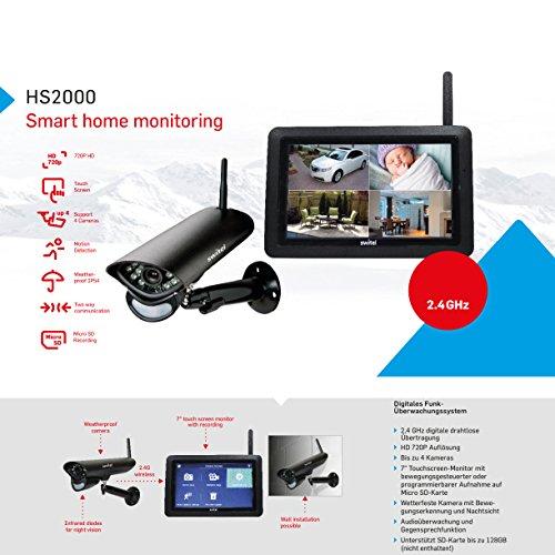 Switel – Digitales HD-Funküberwachungssystem - 5