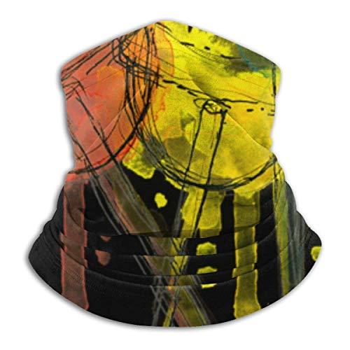 NA Neck Warmer Gaiter Lollipop Candy Watercolor hoofdband Scarf Sports Headwear Face Mask Bandana Multifunctionele bandanas Men Vrouwen