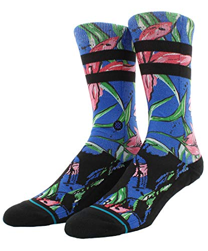 Stance Herren WAIPOUA ST Crew Socken, blau, Large