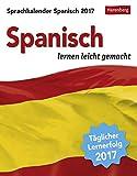 Sprachkalender Spanisch - Kalender 2017: Spanisch lernen leicht gemacht - Harenberg