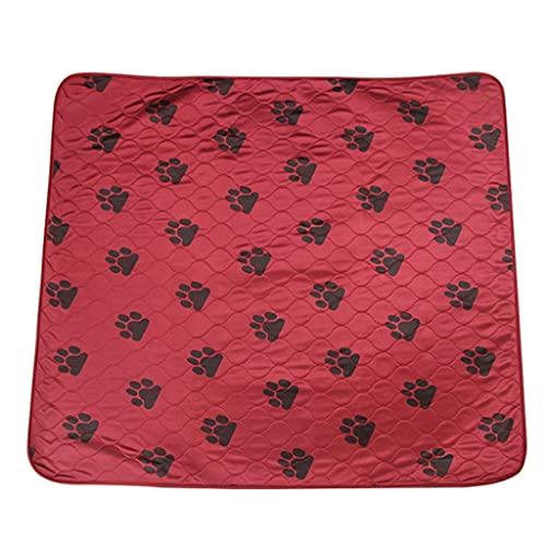 HDDFG Alfombrilla para Perros, Impermeable, Reutilizable, Lavable, Almohadillas para orinar para Perros, Gatos, Almohadillas de absorción rápida, Funda Protectora de colchón para sofá para Viajes