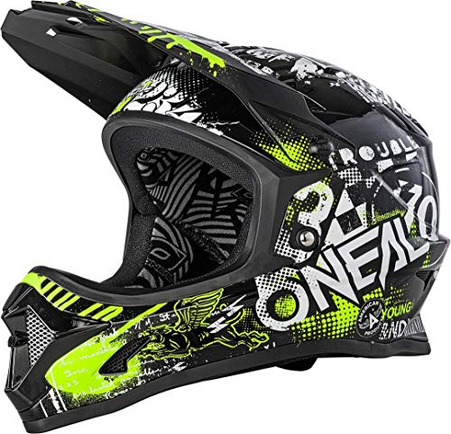 O'NEAL Backflip Helmet Attack Black/neon Yellow M (57/58cm)
