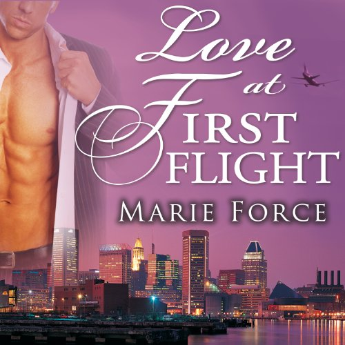 Love at First Flight audiobook cover art
