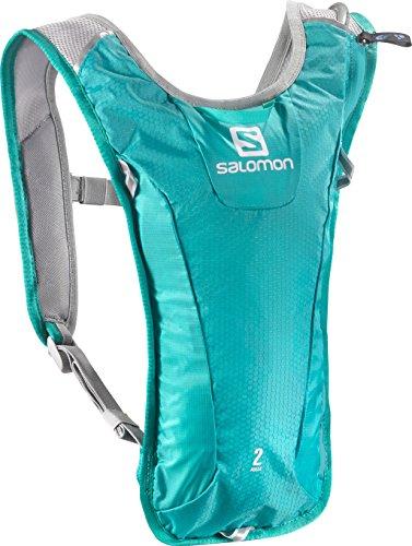 Salomon, AGILE 2 SET, Sac à dos super léger 3 L pour le ski, le snowboard ou la course à pied, Dimensions 40 x 20 x 2 cm; 171g, Aquamarin, L38003900