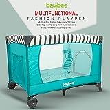 Baybee Classic Baby playpen Playard - Cradle for Baby Smart Folding Baby Cot