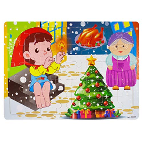 DSJDSFH Kinderspielpuzzle Holzpuzzle 40-Teiliges Cartoon-Puzzle Kinderspielzeugspiele Blechdosenverpackung Geeignet Für Jungen Und Mädchen Im Alter Von 2 Bis 5 Jahren Lernspielzeug Kreatives Geschenk