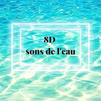 8D sons de l'eau: Pluie, Vagues de l'océan, Fleuve, Sons de la mer