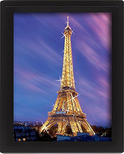 Preisvergleich Produktbild Close Up Paris,  Eiffelturm in der Dämmerung (25, 4cm x 20, 3cm)