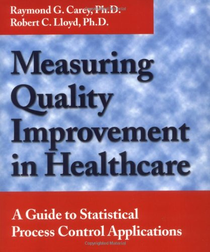 Compare Textbook Prices for Measuring Quality Improvement in Healthcare: A Guide to Statistical Process Control Applications 1st Edition ISBN 9780527762933 by Carey, Raymond G.,Lloyd, Robert C.