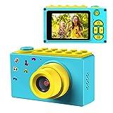 ShinePick Appareil Photo Numérique Enfants,Mini Caméra avec Carte TF / Zoom numérique 4X /...