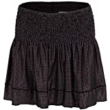 Lucky in Love Femmes Long Grid Smocked Skirt XL