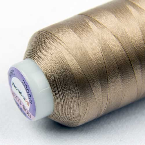 WonderFil Specialty Threads DecoBob Soft Tan P Cottonized 5 ☆ popular Max 69% OFF 2-ply
