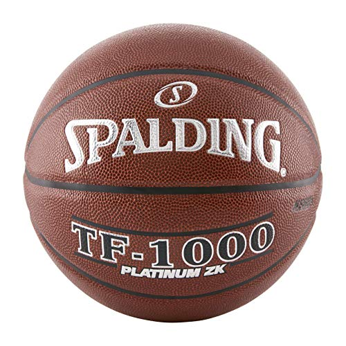 Spalding TF-1000 Platinum ZK Indoor Game Basketball, 72,4 cm