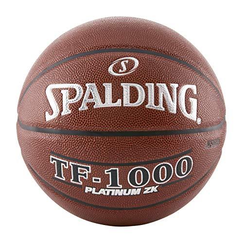 Spalding TF-1000 Platinum ZK Indoor Game Basketball, 72,4 cm