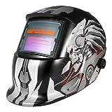 KKmoon Professional Solar Energy Auto Oscura Saldatura Casco Saldatore TIG Mig Grinding Mask