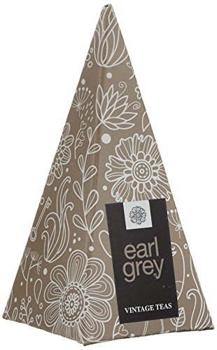 Vintage Teas Schwarzer Tee mit Bergamotte, 30 einzeln verpackte Pyramidenbeutel, 1er Pack (1 x 75 g)