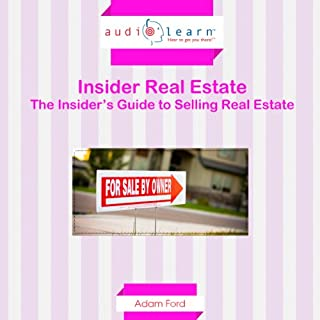 The Insider's Guide to Selling Real Estate audiobook cover art