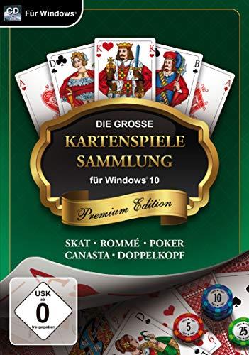 Die große Kartenspielesammlung für Windows 10 - Premium Edition (PC)